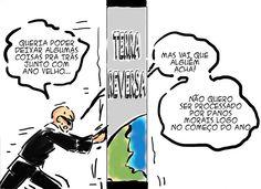 RABISCOS ENQUADRADOS: TERRA REVERSA 104: NÃO DEIXE LIXO POR AI