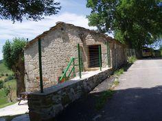 Cabaña de piedra reformada