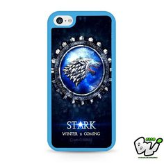 Game Of Thrones Inspired Winter Is Coming iPhone 5C Case