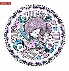Anita Mejia - Illustration Blog. http://www.chocolate-derretido.blogspot.com/