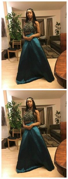 Beading Charming Real Made Prom Dresses,Long Evening Dresses,Prom Dresses On…
