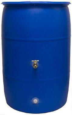 Good Ideas RB55-BLUE Big Blue Recycled Rain Barrel, 55-Ga... http://www.amazon.com/dp/B003BE2BV8/ref=cm_sw_r_pi_dp_uSLpxb0Q1GK17