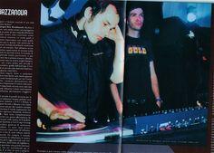 On DJ-tour with Jazzanova 1998-99 Here: Italy ´99 , Club Maffia ,Reggio Emilia (found in a magazine)