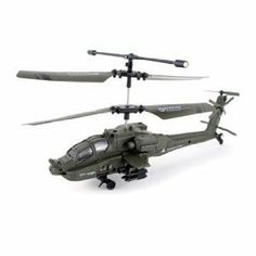 U803 Mini 3 Channel Military Apache Indoor RC Helicopter with Built-in Gyro Gyroscope & Remote Control -- NEW Model! by viefly. $29.90