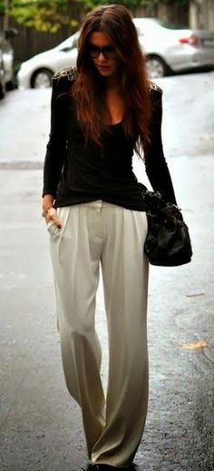Cute Pant Outfits For Girls to Try (14)