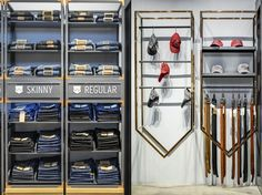tienda de Wrangler por Uxus, Bangkok - Tailandia »Retail Design Blog