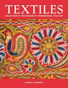 Textiles: Collection of the Museum of International Folk Art, a richly illustrated catalogue authored by exhibition curator Bobbie Sumberg. From the collection of the Museum of International Folk Art, Santa Fe, NM. Material World, Inca, Hanging Wall Art, Wall Hangings, Book Format, Textile Artists, Religious Art, Creative Words, Metal Art