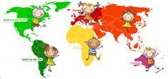 Tener un amigo en cada país del mundo