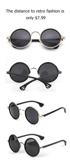 becf20914ef Only  7.99 can give you a flattering season vision! It s also super trendy  with thin rim round glasses. Pick up more pieces at Cupshe.com !