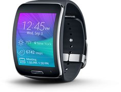 "SAMSUNG Gear S | DISPLAY: 2.0"" Curved Super AMOLED (360 x 480) 
