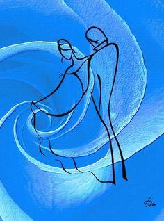 Предельная выразительность нескольких линий. Художник Татьяна Марковцева. | Наслаждение творчеством