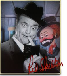 Red Skelton the great comic, funny man and comedian genius.