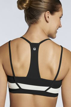 Lille Sports Bra - Fabletics - love the design on the back!