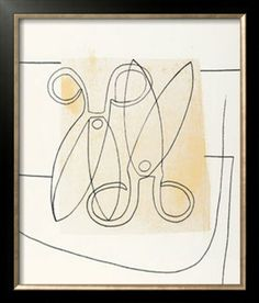 Scissors, Ben Nicholson Abstract Words, Abstract Art, Scissors Drawing, William Nicholson, Scissor Sisters, Geometric Painting, Galleries In London, Dutch Painters, Modern Artists