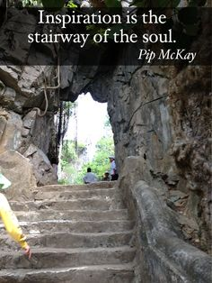 Inspiration is the stairway of the soul. #inspirationalquotes #nlp #pipmckay #archetypes #archetypalcoaching