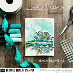 Welcome to Day One of the Display Stamper Blog Hop! We are bringing you 7 days of inspiration for new products from the 2018 Occasions Catalog!