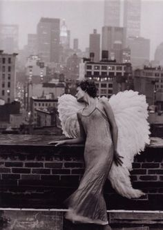 angel wings & rooftops
