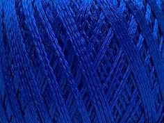 Viscose Chain - Bright Blue: 6 x 50g/200m, SYW2, 40% Viscose 60% Polyamide Limited Edition Yarn at Anjicat's Rocking Chair