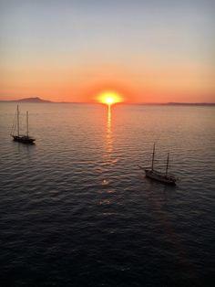La Marinella, Sant'Agnello, Italy. Indescribable sunset