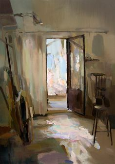 Wonderful, bright, scattered broken half-light...Carlos San Millán - Interior