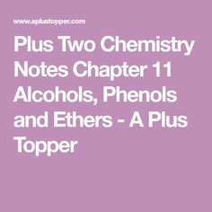 63 Best Plus Two Chemistry Notes images in 2019