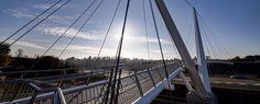 M20 Ashford foot bridge