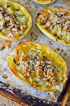Roasted Spaghetti Squash with Brown Butter, Sage and Walnuts by ...
