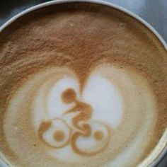 Bicycle latte