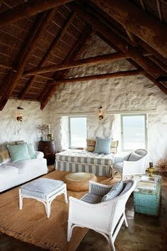 Weekends by the sea--Paternoster Beach house, South Africa