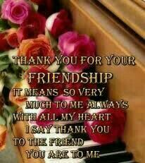 Thank you for your friendship. quote friend friendship quote friend quote thank you Friendship Quotes Thank You, Meaningful Friendship Quotes, Friendship Thoughts, Friendship Photos, Happy Friendship Day, Friend Friendship, Valentines Quotes For Friends Friendship, Funny Friendship, Special Friend Quotes