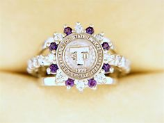 Carissa- Custom University Ring