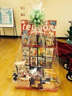 Pinterest & Movie themed auction basket. | Silent Auction Ideas | Diy gift ...