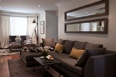 moutarde and grey living room - Buscar con Google