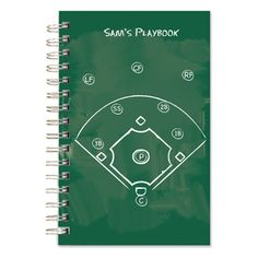 Score points with the Coach! Personalize the Playbook Baseball Journal as a teacher's gift for end of the year! Personalized Teacher Gifts, Personalized Notebook, Personalized Stationery, Camp Gear, Custom Journals, Coach Gifts, Note Cards, Notebooks, Dates
