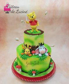 Winnie the pooh  - cake by Gâteau de Luciné