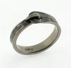 Paul DeBlassie Titanium Ring.