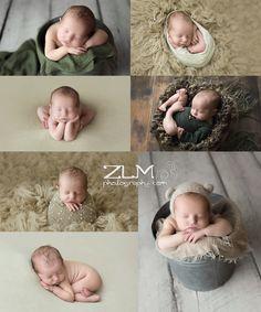 Newborn photography Baby boy poses Neutral baby Newnan Atlanta newborn photographer