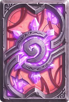 Card Back: Exodar Artist: Blizzard Entertainment