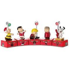 Hallmark 2017 Peanuts Dance Party Special Edition Collectors Set of 8 Pieces
