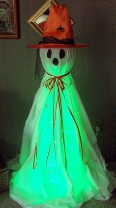 Image for Halloween Ghost Witch DIY Craft Project