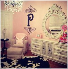 shabby chic look, want this for my room but with an 'E' instead of a 'P'