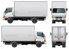 Illustration about Vector illustration delivery/cargo truck [ for branding ]. Available separated by layers and groups for easy editing format. Illustration of headlight, diesel, container - 14669789 Truck Wheels, Tow Truck, Monster Truck Birthday, Monster Trucks, Trailers, Train Illustration, Truck Detailing, Truck Bed Camper, Truck Boxes