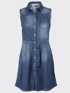 NUPA SL DENIM DRESS from #objectcollectorsitem:  http://shop.bestseller.com/object-collectors-item/dresses/NUPASLDENIMDRESSTU59/23011025,en_GB,pd.html?dwvar_23011025_colorPattern=23011025_DENIM=