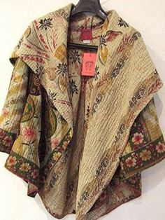 ☯☮ॐ American Hippie Bohemian Style ~ Boho Poncho Jacket! Fashion Moda, Boho Fashion, Womens Fashion, Fashion Design, Girl Fashion, Bohemian Style, Boho Chic, Hippie Bohemian, Estilo Hippy