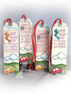Bookmark Set by sunnysankari - Cards and Paper Crafts at Splitcoaststampers