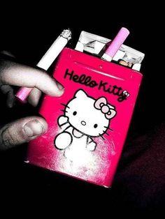 Finally - Hello Kitty Cigarettes. Now I can start smoking.