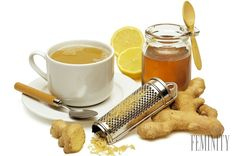 Tea with cinnamon, ginger and lemon Make a cup of black tea, add a half teaspoon of cinnamon, juice of a half of lemon and a pinch of grated gi Sore Throat Cure, Healthy Life, Healthy Living, Fitness Diet, Diabetes, Detox, Smoothies, Nom Nom, Herbalism