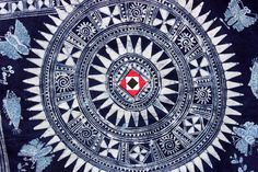 Hmong batik art from Vietnam (not traditional)