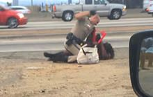 After California Highway Patrol beating, community wants answers - CBS News