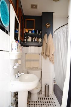 ricky mccarys one of a kind style - Small Bathroom Ideas Apartment Therapy